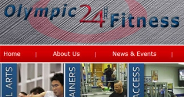 Troxell Web Design Gets Ready To Launch Olympic 24HR Fitness